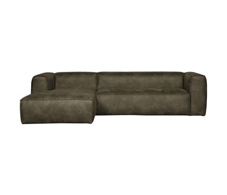 LEF collections Bean corner couch left army