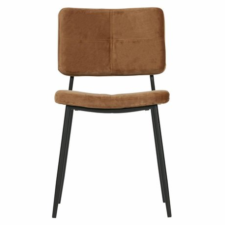 WOOOD Set di 2 - kaat dining chair velvet caramel