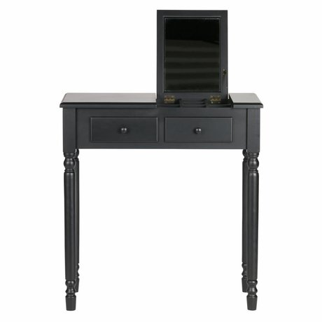 LEF collections Romy hall / dressing table wood black