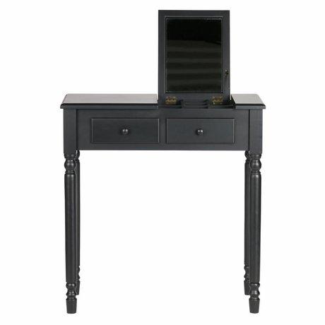 LEF collections Romy sala / toletta legno nero