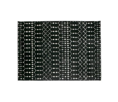 LEF collections Sansa tæppe sort 170x240