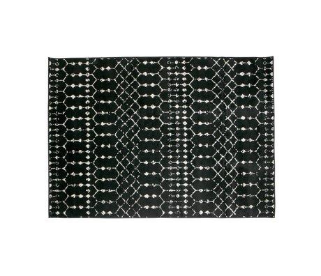LEF collections Tapis Sansa noir 170x240