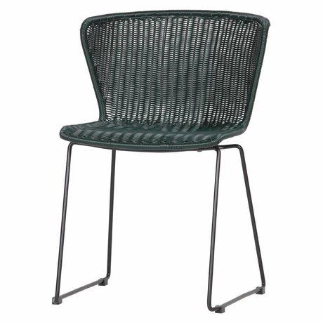 LEF collections Chair Wing (Have) Flaske Grøn Sæt med 2 54,5x54x77,5cm