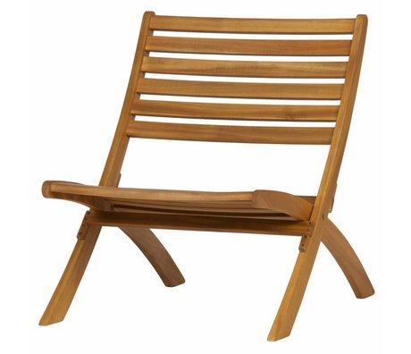WOOOD Lois fauteuil en bois naturel