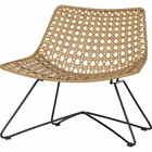 LEF collections Fauteuil Weave naturel