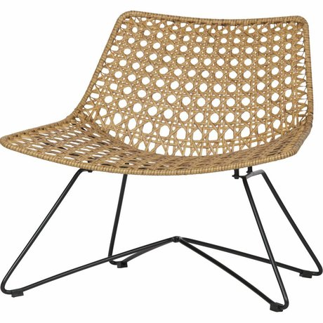 LEF collections Weave armchair naturel