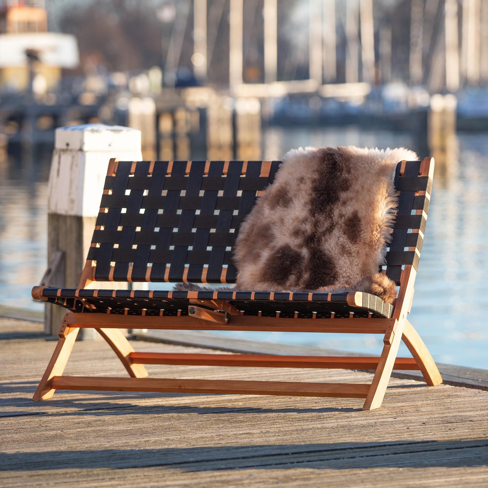 Sensational Woood Lois Black Woven Bank Wood Naturel Machost Co Dining Chair Design Ideas Machostcouk