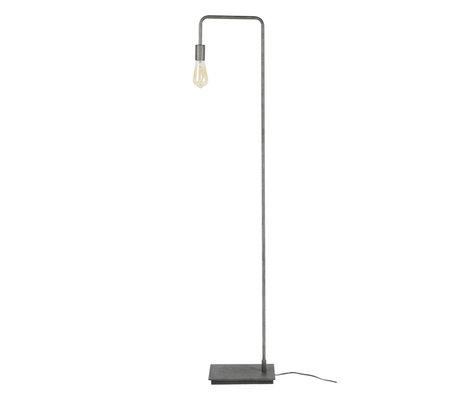 Wonenmetlef Floor lamp Just Altsilber metal 18x28x150cm