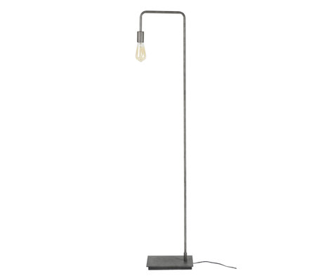 Wonenmetlef Gulvlampe Just Altsilber metal 18x28x150cm