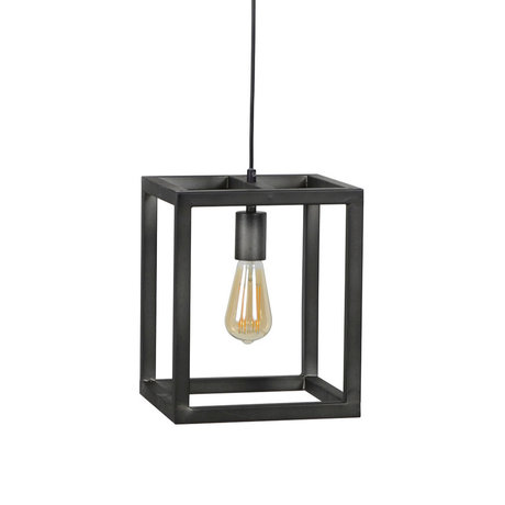 Wonenmetlef Pendant light Jack old silver colored metal 25x25x150cm