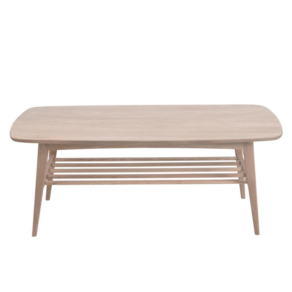 Wonenmetlef Brune Blanc Jolie Pigmenté Table Avec 120x60x47cm Basse Bois 7bfgYv6y