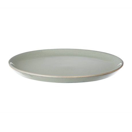Ferm Living Board tray Neu gray stone glazed small ø22cm