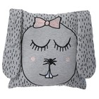 Ferm Living Coussin / Peluche Petit Mme Lapin 30x30cm gris