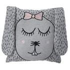 Ferm Living Kissen/Kuscheltier Little Ms. Rabbit, grau, 30x30cm
