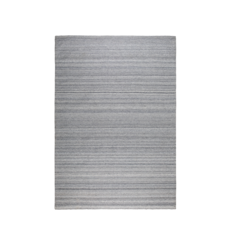 Zuiver Tæppeslibere sølvgrå uld 170x240cm