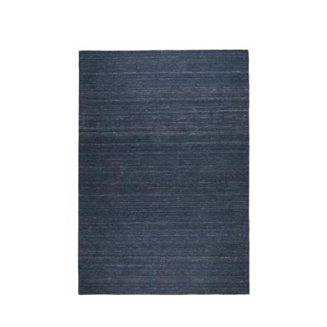 Zuiver Tæppeslibere indigo blå uld 170x240cm