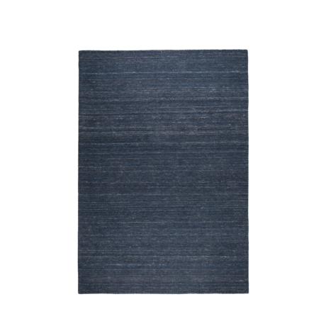 Zuiver Tappeto Levigatrici lana blu indaco 170x240cm