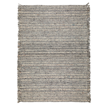 Zuiver Carpet ruffles gray blue wool 170x240cm