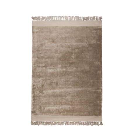 Zuiver Alfombra Blink textil marrón arena 200x300cm