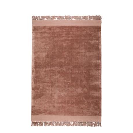 Zuiver Tappeto Blink rosa in tessuto 200x300cm