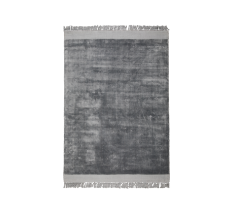 Zuiver Alfombra Blink textil gris plata 170x240cm