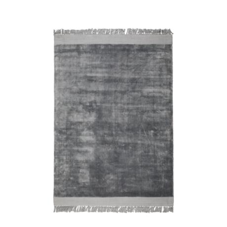 Zuiver Tapis Blink textile gris argent 170x240cm