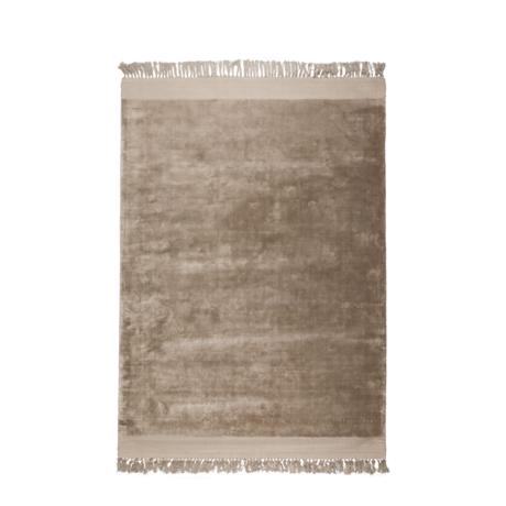 Zuiver Tæppe Blink sandbrun tekstil 170x240cm