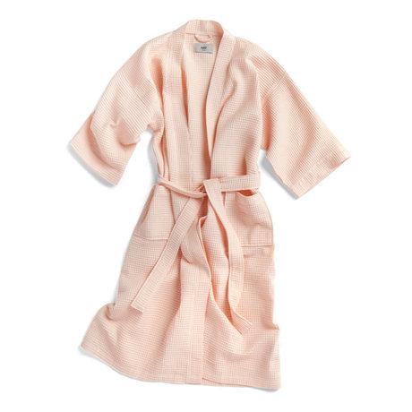 HAY Peignoir gaufré textile rouge clair - taille unique