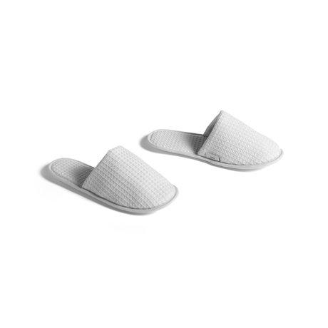 HAY Slippers Waffle grijs textiel - one size