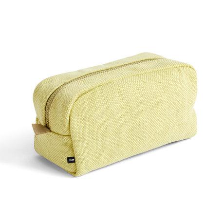 HAY Toilettas Hue geel textile 23x13x11cm