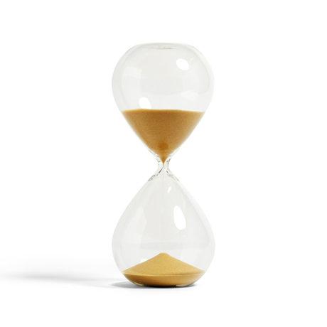 HAY Zandloper Time 120min vetro trasparente goud ¯16x37,5cm