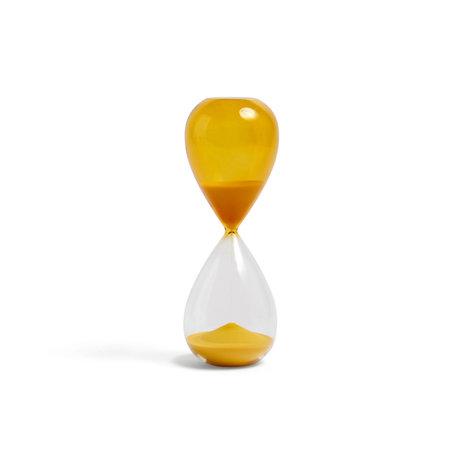 HAY Verre à gel Zandloper Time 30min ¯7,5x19,5cm