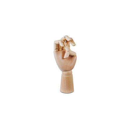 HAY Accessorio Holzhand S legno marrone 6x13,5cm