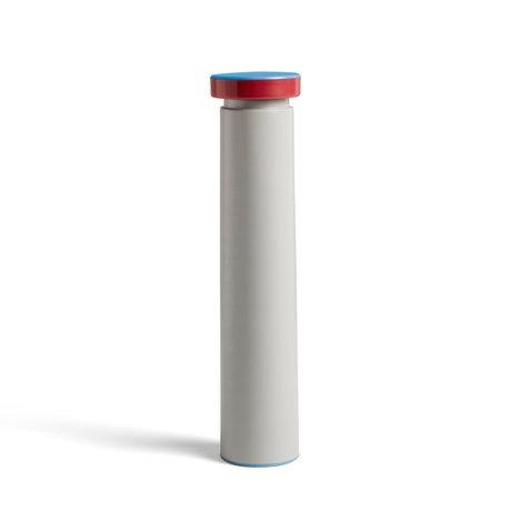 HAY Salz- und Pfeffermühle Salt & Pepper L hellgrauer Stahl ¯6x26cm