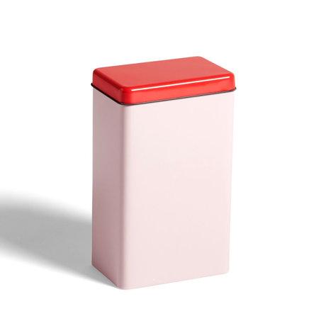 HAY Aufbewahrungsdose rosa Aluminium 12x8x20cm