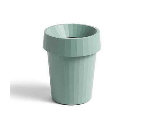HAY Litter bin Shade Bin green plastic ¯30x36.5cm
