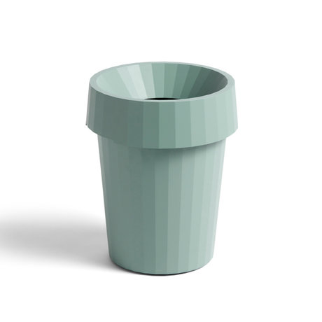HAY Papelera Shade Bin plástico verde ¯30x36,5cm