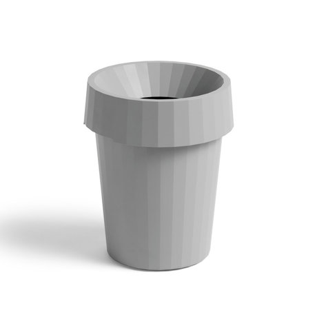HAY Papelera Shade Bin plástico gris ¯30x36,5cm