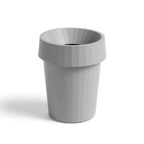 HAY Poubelle Shade Bin plastique gris ¯30x36.5cm