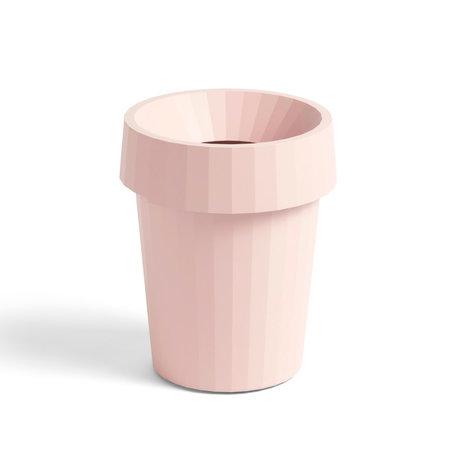 HAY Papelera Shade Bin plástico rosa claro ¯30x36,5cm