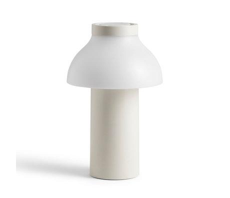 HAY Lampada PC Portatile plastica bianca ¯14x22cm