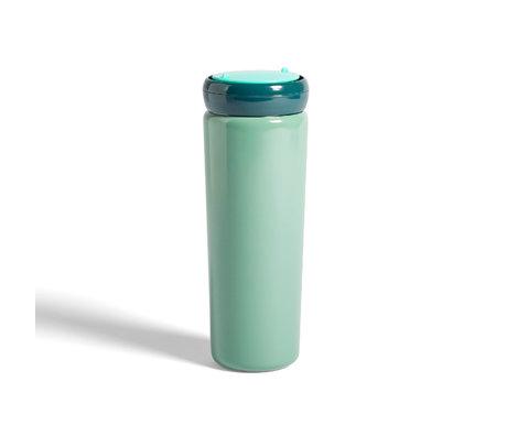 HAY Tazza termica da viaggio 0,5L in acciaio inossidabile verde menta Ø8x22cm