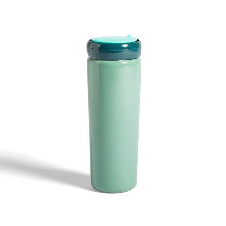 HAY Tasse de voyage thermos 0,5L acier inoxydable vert menthe Ø8x22cm
