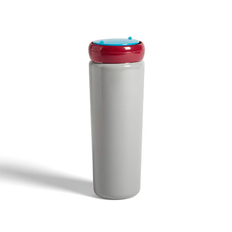 HAY Thermos travel cup 0.5L gray stainless steel Ø8x22cm