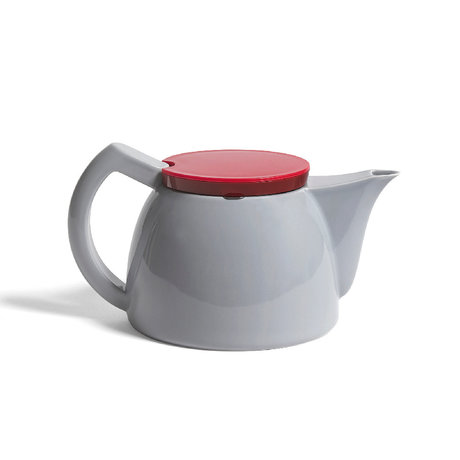 HAY Teapot Tea 1L gray porcelain 23.5x15x13cm