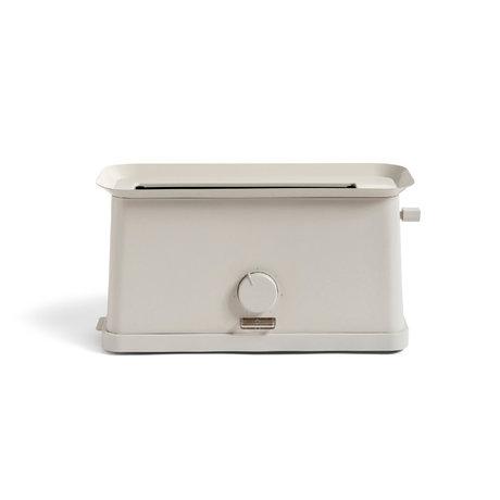 HAY Toaster Sowden grauer Edelstahl 37,5 x 15 x 19,5 cm