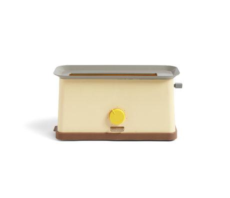 HAY Grille-pain Sowden acier inoxydable jaune 37,5x15x19,5cm