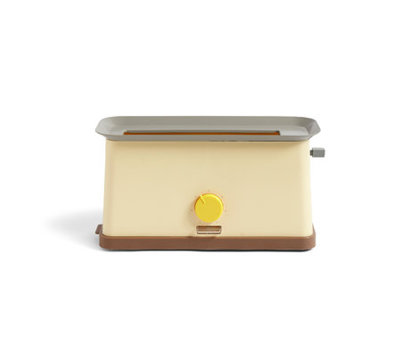 HAY Tostapane Sowden in acciaio inossidabile giallo 37,5x15x19,5 cm