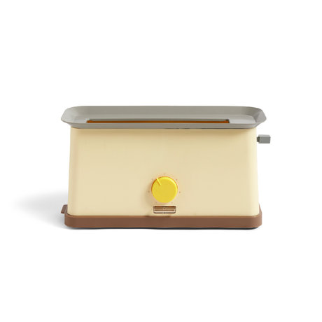HAY Toaster Sowden gelber Edelstahl 37,5 x 15 x 19,5 cm