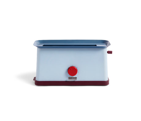 HAY Tostapane Sowden in acciaio inossidabile blu 37,5x15x19,5 cm